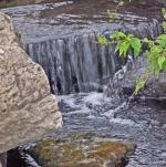waterfall in brook